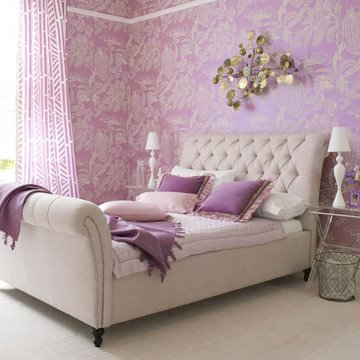 Purple Bedroom Girly