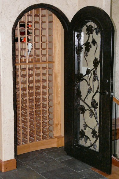 Wine cellar on pinterest wine rooms wine cellar design Turn closet into wine cellar